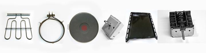 Bauknecht Elektroherd Einbauherd Ersatzteile Heizung Schalter